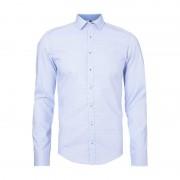Seidensticker Slim Fit Business-Hemd mit Vichy Karo