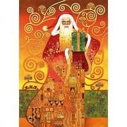 Wentworth Klimt Santa 250 Piece Gustav Klimt Wooden Jigsaw Puzzle by Wentworth