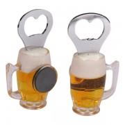 Ölglas Kylskåpsmagnet