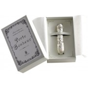 """CLOVER sewing needle case 79-487 lily of the valley """"tin (tin) made"""" of (japan import)"""