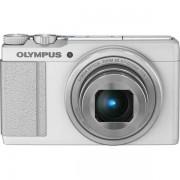 Olympus Stylus XZ-10, Бял + Калъф + Карта 8GB (Class 10)