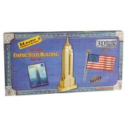 3D Wood Large Empire State Building Puzzle 57pc by Toysmith by Toysmith