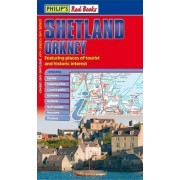 Philip's Red Books Shetland and Orkney by Philip's