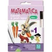 Matematica - Clasa a 1-a - Exercitii si jocuri logice. 52 Fise