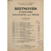 Symphonies Transcrites Pour Piano - N° P. 1389 - Op.60 - Symphonie N°4 Extrait : Finale (Allegro Ma Non Troppo).