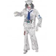 Costum halloween barbati marinar fantoma