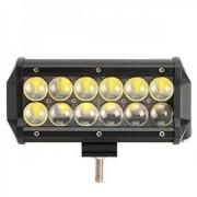 LED-extraljus 36W Cree 12-24V 3000lm - Bred