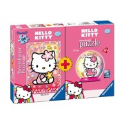 Ravensburger - 10692 - Hello Kitty - Bipack - Puzzle 100 pezzi + Mini Puzzleball 54 pezzi