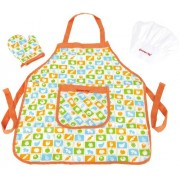 Hape - Playfully Delicious - Chef's Apron Set - Play Set