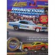 Johnny Lightning Famous Dragsters 72 Chi-town Hustler Pat Minick Limited Edition