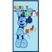 Prosop plaja Mickey Mouse albastru