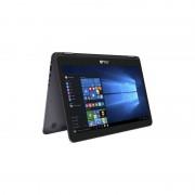 Laptop Asus ZenBook Flip UX360CA-C4121T 13.3 inch Full HD Touch Intel Core M5-6Y54 8GB DDR3 128GB SSD Windows 10 Black