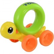 Tomy Push And Chase Turtle (Yellow Green)