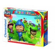 Clementoni 24451 - Mike The Knight, Knight in Training - Maxi puzzle 24 pezzi