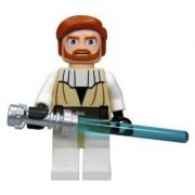 Obi-Wan Kenobi (Clone Wars) - Lego Star Wars 2 Figure