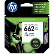 Cartucho HP 662XL-Tricolor