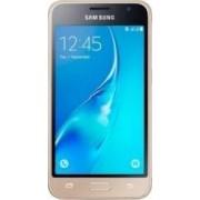 Telefon Mobil Samsung Galaxy J1(2016) J120F 4G Gold Bonus Suport Auto Clingo cu + Cartela Prepaid Vodafone Power