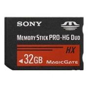 Sony MSHX32B - Carte mémoire flash - 32 Go - Memory Stick PRO-HG Duo - pour Cyber-shot DSC-TX100; Handycam HDR-PJ50, PJ760, PJ780, PJ790; NXCAM NEX-EA50; a SLT-A65