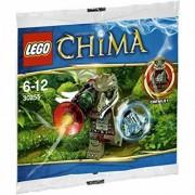 LEGO Legends of Chima: Crawley Con Weapons Set 30255 (Insaccato)