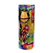 Nickelodeon Teenage Mutant Ninja Turtles Raphael Gift Pack [Water-Grow Turtle, Stunt Skateboard, Wristband & Light-Up Weapon]