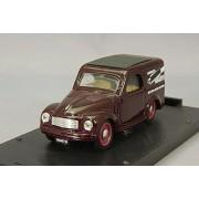 Fiat 500 C Furgoncino 1956 Marmitte Abarth 1/43rd Scale Brumm Model
