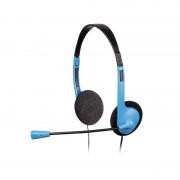 Casti PC cu microfon HS-101 Hama, Negru/Albastru