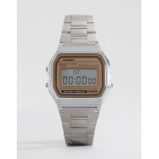 Casio Classic Retro Digital Watch A158WEA-9EF - Silver (Sizes: )