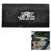 JSZ Protective Neoprene Velcro Sticker for Bike Chain - Black