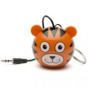 KitSound Mini Buddy Tiger Speaker - boxa portabila cu jack 3.5mm