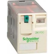 Releu conectabil miniatural - zelio rxm - 4 c/o - 24 v c.c. - 3 a - Relee de interfata - Zelio relaz - RXM4GB1BD - Schneider Electric