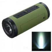 PINDO PD P-X6 altavoz Bluetooth y la bici de la energia Bank - Ejercito Verde + Negro