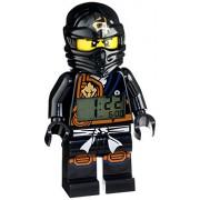 LEGO Kids 9009617 Ninjago Jungle Cole Digital Alarm Clock