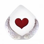 Målerås Glasbruk Hjärta liten
