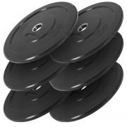 Hantelscheiben Bumper Plates 6x5 - Gorilla Sports'
