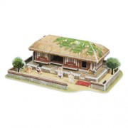 CubicFun 3d Puzzle - thatched house