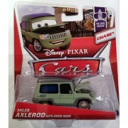 Disney - Pixar CARS 1:55 Scale Die Cast Miles Axlerod with Open Hood - Chase [Palace Chaos 4-9]
