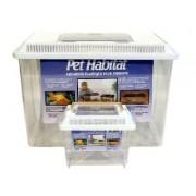 Pet Habitat Aquarium Plastic Met Wit Kapje