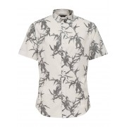 ONLY & SONS Printed Short Sleeved Shirt Man White