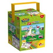 Lisciani Giochi 52905 - Puzzle in a Tub Maxi Oggy e i Maledetti Scarafaggi, 120 Pezzi, Multicolore