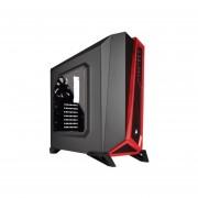 Gabinete Media Torre Micro Atx Miniitx Corsair Spec Alpha Negro Con Rojo Sin Fuente Cc 9011085 Ww