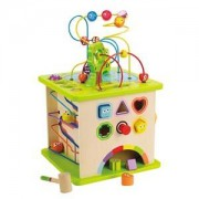 Hape Unisex First toys and baby toys Beige Country Critters Play Cube