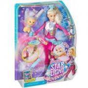 Кукла Барби - Космическо приключение - Комплект с летящо коте - Barbie, 171278