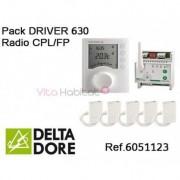 DELTA DORE Pack DRIVER 630 Radio CPL/FP - DELTA DORE - 6051123