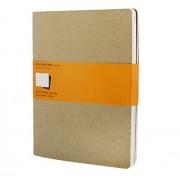 Moleskine 944370 - Pack de 3 cuadernos con rallado horizontal, 19 x 25 cm