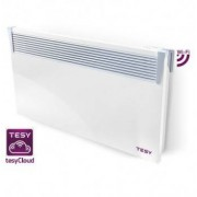 Convector electric TESY 2500W, termostat electronic, modul WIFI incorporat, timer