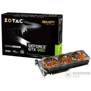 Placa video Zotac nVidia GTX 980 AMP! Edition 4GB GDDR5 256bit - ZT-90204-10P