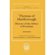 Thomas of Marlborough: History of the Abbey of Evesham by Jane E. Sayers