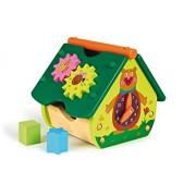 Oops Little Helper Multi-Forestale delle meraviglie in legno del giocattolo con Shape Sorter / Cogs Spinning e Orologio Educational (multi-colore)