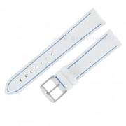 cinturino di ricambio morellato yesky bottalato bianco e blu 20 mm