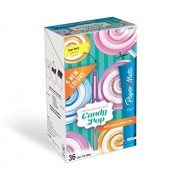 Paper Mate Flair Felt Tip Pens, Ultra Fine Point, Limited Edition Candy Pop Pack, Box of 36